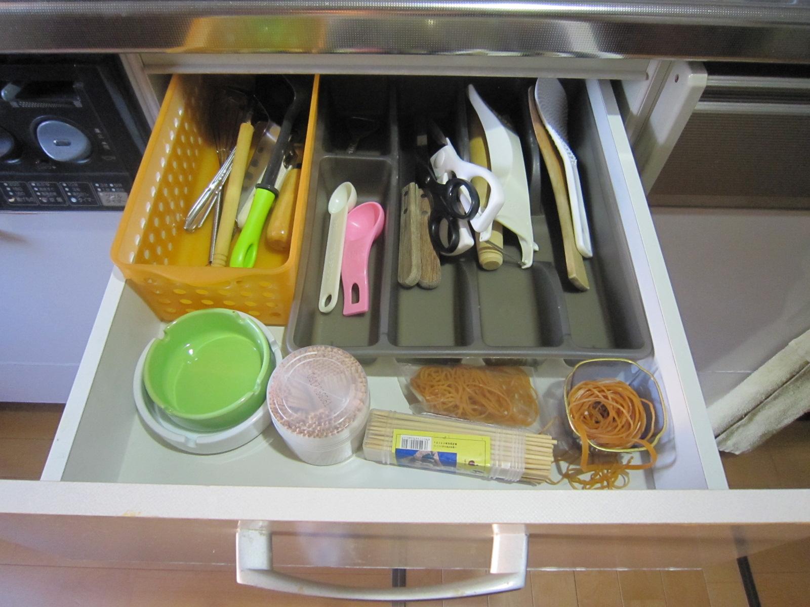 収納の現場 キッチン